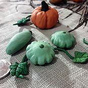 Кукольная еда ручной работы. Ярмарка Мастеров - ручная работа Кукольная еда: кабачки и патиссоны из полимерной глины. Handmade.