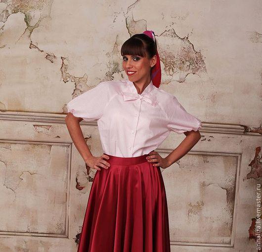 """Блузки ручной работы. Ярмарка Мастеров - ручная работа. Купить Блузка в ретро стиле """"Фрида"""". Handmade. Женская блузка"""