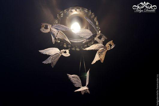Подвески ручной работы. Ярмарка Мастеров - ручная работа. Купить Кружевной ангел. Handmade. Комбинированный, подарок на рождество, на именины, оберег