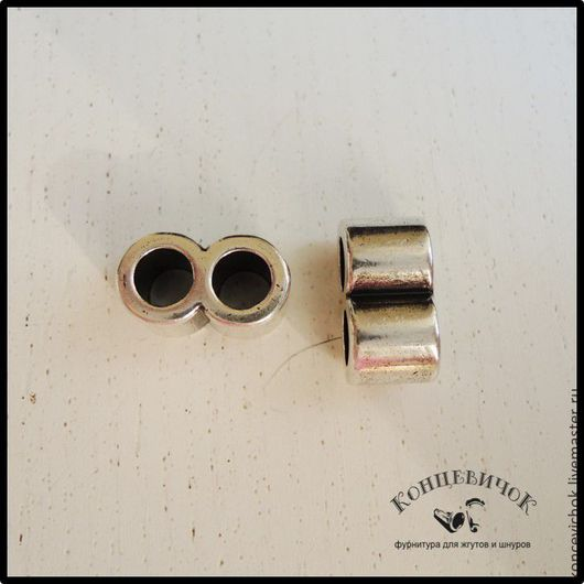 Для украшений ручной работы. Ярмарка Мастеров - ручная работа. Купить Коннектор   для шнуров 5 мм. Испания. Handmade. Коннектор