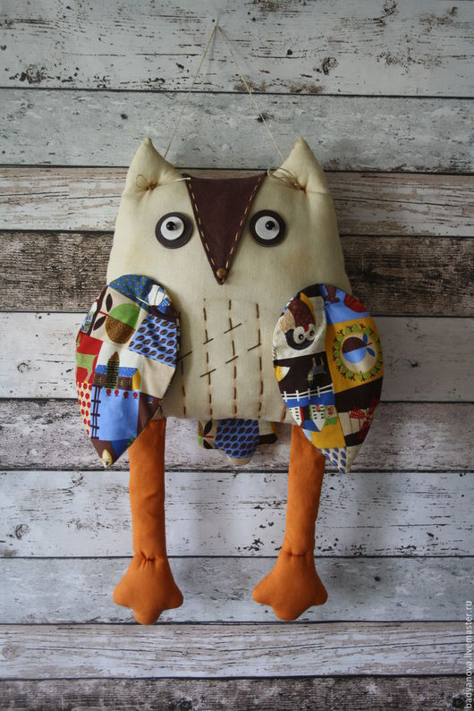 Детская ручной работы. Ярмарка Мастеров - ручная работа. Купить Текстильная подушка Сова. 51 см. 2200 руб.. Handmade.