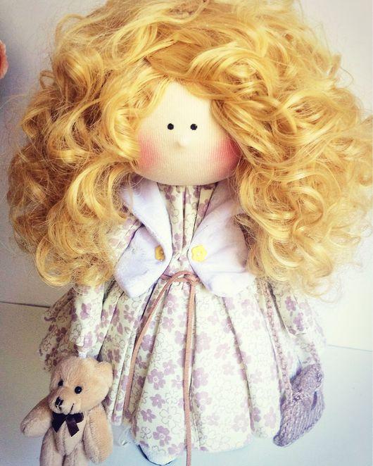 Куклы тыквоголовки ручной работы. Ярмарка Мастеров - ручная работа. Купить Кукла Линда. Handmade. Интерьерная кукла, подарок девушке