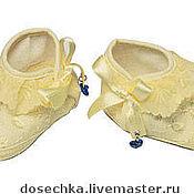Обувь ручной работы. Ярмарка Мастеров - ручная работа Пинетки. Handmade.