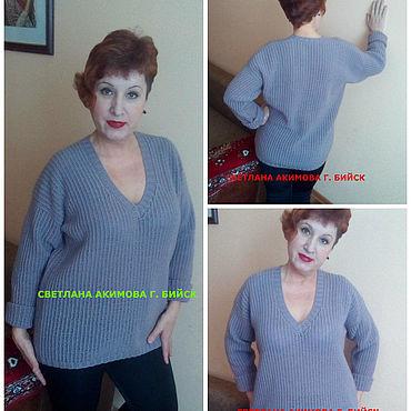 Одежда ручной работы. Ярмарка Мастеров - ручная работа Кофты: пуловер. свитер. джемпер. пуловер вязаный. свитер вязаный. кофт. Handmade.