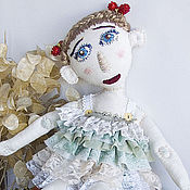 Куклы и игрушки ручной работы. Ярмарка Мастеров - ручная работа куколка балетница воображуля сплетница. Handmade.