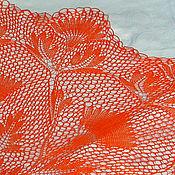 Для дома и интерьера ручной работы. Ярмарка Мастеров - ручная работа скатерть Цветы лотоса. Handmade.