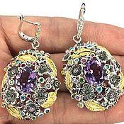 Украшения handmade. Livemaster - original item Large earrings