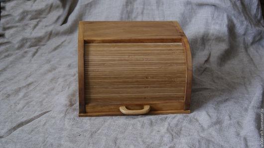 Кухня ручной работы. Ярмарка Мастеров - ручная работа. Купить Хлебница. Handmade. Хлебница, Дуб