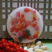 handmade. Livemaster - original item Handmade soap with a picture on March 8. Handmade.
