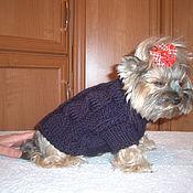 Для домашних животных, ручной работы. Ярмарка Мастеров - ручная работа Кардиган для йорка. Handmade.