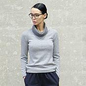 Одежда handmade. Livemaster - original item Lotte knitted cashmere sweater. Handmade.