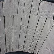 Материалы для творчества ручной работы. Ярмарка Мастеров - ручная работа Белые упаковочные пакетики с тиснением 1. Handmade.
