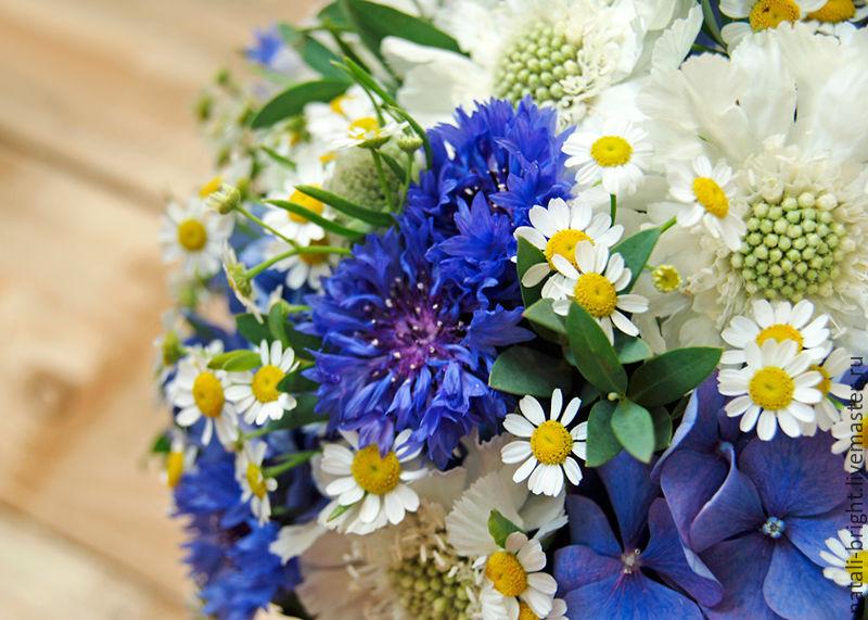 Купить букет полевых цветов
