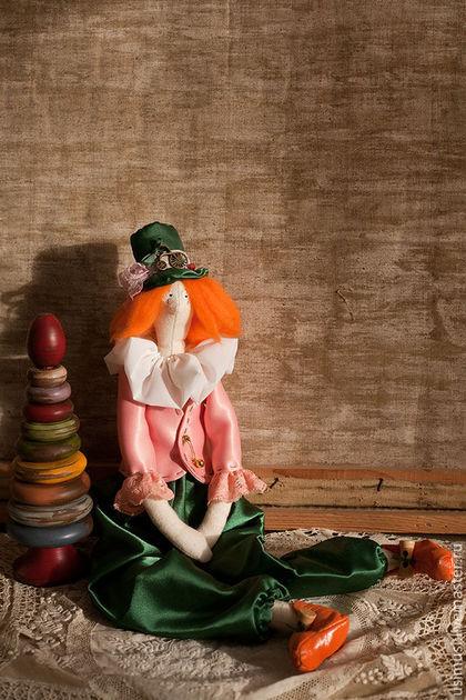 Куклы Тильды ручной работы. Ярмарка Мастеров - ручная работа. Купить Рыженькая. Handmade. Рыжий, кукла в детскую, шерсть