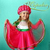 """Работы для детей, ручной работы. Ярмарка Мастеров - ручная работа карнавальный костюм """"Малинка"""". Handmade."""