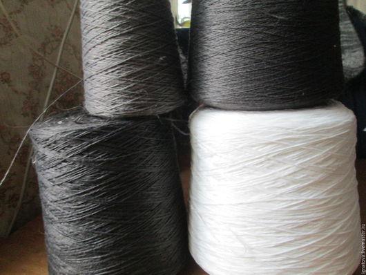 Вязание ручной работы. Ярмарка Мастеров - ручная работа. Купить Нить х/б. Handmade. Комбинированный, нить для прядения