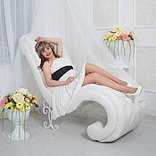 Кресла ручной работы. Ярмарка Мастеров - ручная работа Кресло на ковке с каретной стяжкой. Handmade.