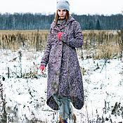Одежда ручной работы. Ярмарка Мастеров - ручная работа Зимняя сказка бордо. Handmade.
