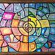 Абстракция ручной работы. Ярмарка Мастеров - ручная работа. Купить Наутилус. Handmade. Комбинированный, для интерьера, абстрактная живопись, картина в подарок