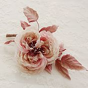 Украшения ручной работы. Ярмарка Мастеров - ручная работа Староанглийская роза. Handmade.