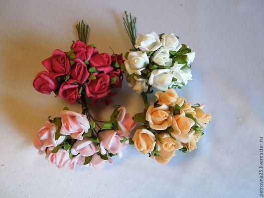 Другие виды рукоделия ручной работы. Ярмарка Мастеров - ручная работа. Купить Цветы латексные 001     (10 шт ). Handmade.