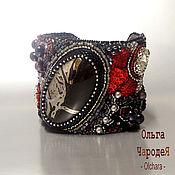 Украшения handmade. Livemaster - original item Bracelet knights Natural stones, beads, leather. Handmade.