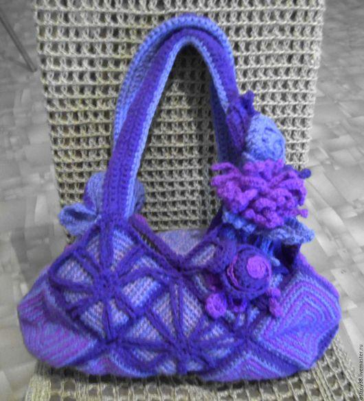 Дамская сумка `Сиреневый туман`