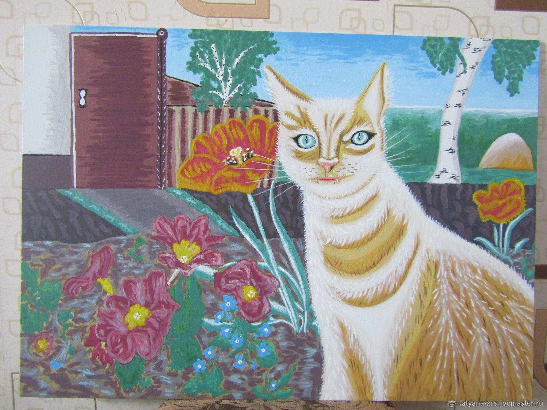 Дворовый кот, Картины, Рославль, Фото №1
