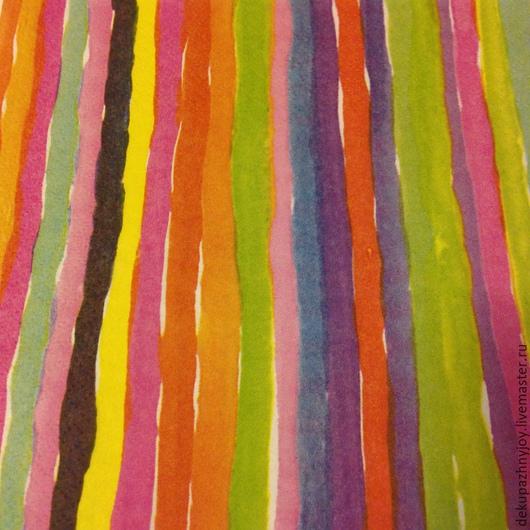 Акварельные фоновые полоски - салфетка для декупажа Декупажная радость