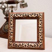 Для дома и интерьера ручной работы. Ярмарка Мастеров - ручная работа Настольное зеркало Андрэ. Handmade.