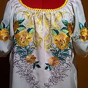 Одежда handmade. Livemaster - original item Women`s embroidered blouse