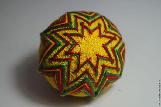 Темари ручной работы. Ярмарка Мастеров - ручная работа. Купить Темари. Handmade. Темари, зеленый, шар, японские шары