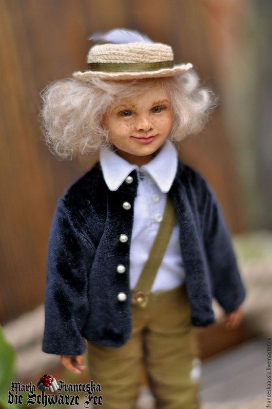 Коллекционные куклы ручной работы. Ярмарка Мастеров - ручная работа. Купить Том Сойер коллекционная кукла ручной работы. Handmade.