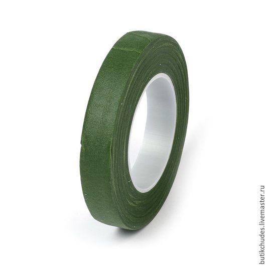 Флористическая тейп лента зеленая FLEUR, 27м