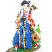 Куклы и игрушки handmade. Livemaster - original item BABA YAGA author`s collectible doll. Handmade.