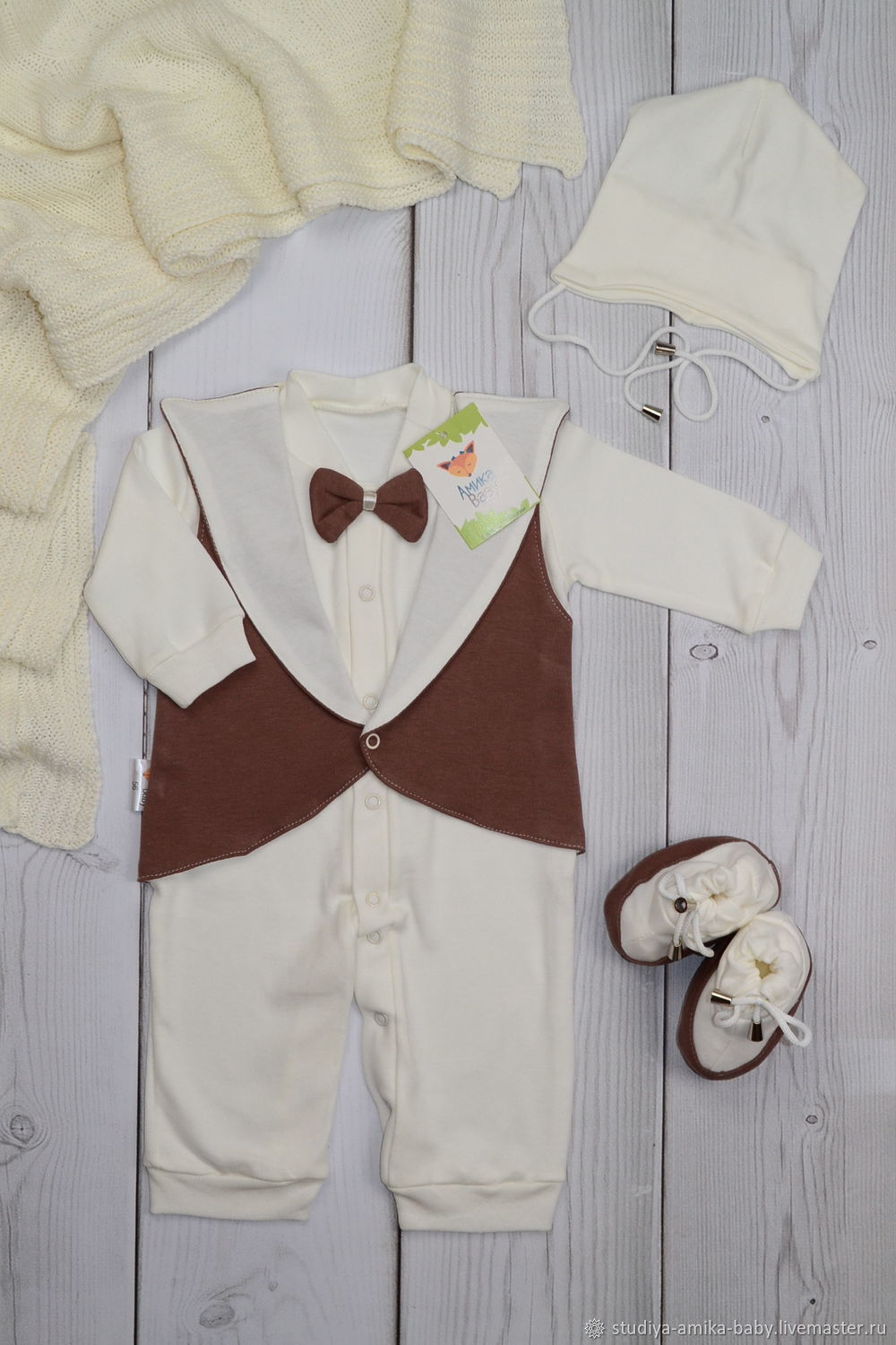 Suit for discharge 'Aristocrat' for the boy, Baby Clothing Sets, Moscow,  Фото №1