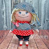 Куклы и игрушки handmade. Livemaster - original item Textile doll Piratka. Handmade.