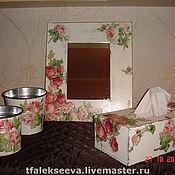 """Для дома и интерьера ручной работы. Ярмарка Мастеров - ручная работа Набор для леди """"Шебби-шик"""". Handmade."""
