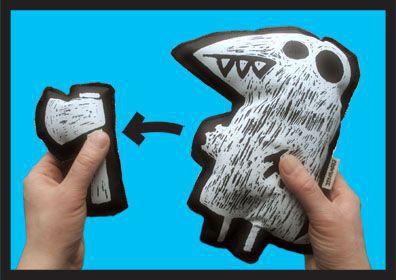 Animal Toys handmade. Livemaster - handmade. Buy Teen toy 'ax murderer'.Author toy, soft toy, bird, maniac