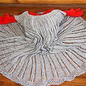"""Одежда ручной работы. Ярмарка Мастеров - ручная работа Платье ажурное вязаное """"Ажурная сталь"""". Handmade."""