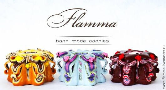 Коллекция `Wonderful Casket 2` от Flamma hand made candles