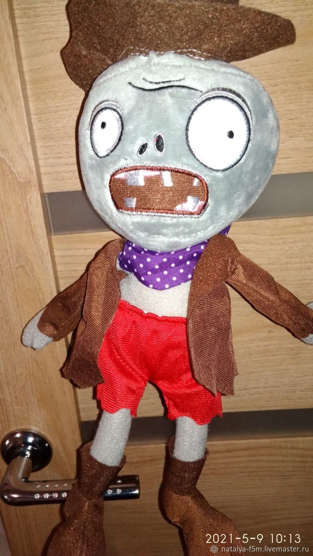 Зомби персонаж из компьютерной игры, Мягкие игрушки, Кашира,  Фото №1