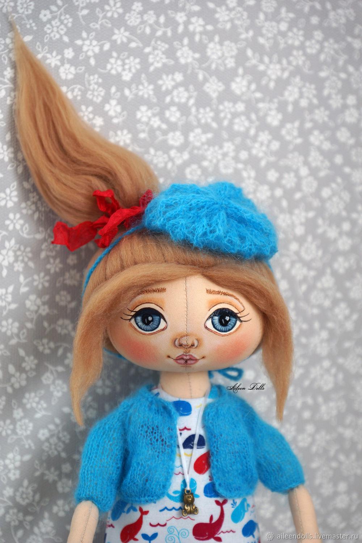 Куклы: Интерьерная авторская кукла Вивьен, Куклы и пупсы, Обнинск,  Фото №1