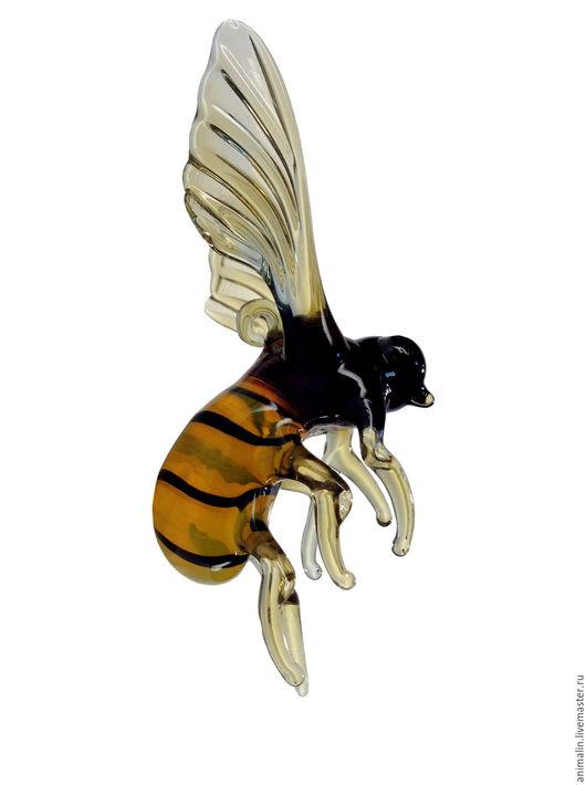 Toy Miniatures handmade. Livemaster - handmade. Buy Interior hanging decoration stained glass bumblebee Hommel.Toy, garden, bathroom