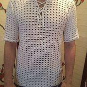 Одежда handmade. Livemaster - original item Men`s Polo. Handmade.