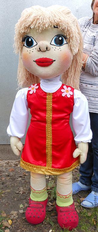 Планшетные куклы для кукольного театра своими руками