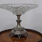 Антикварная ваза для фруктов. Австрия