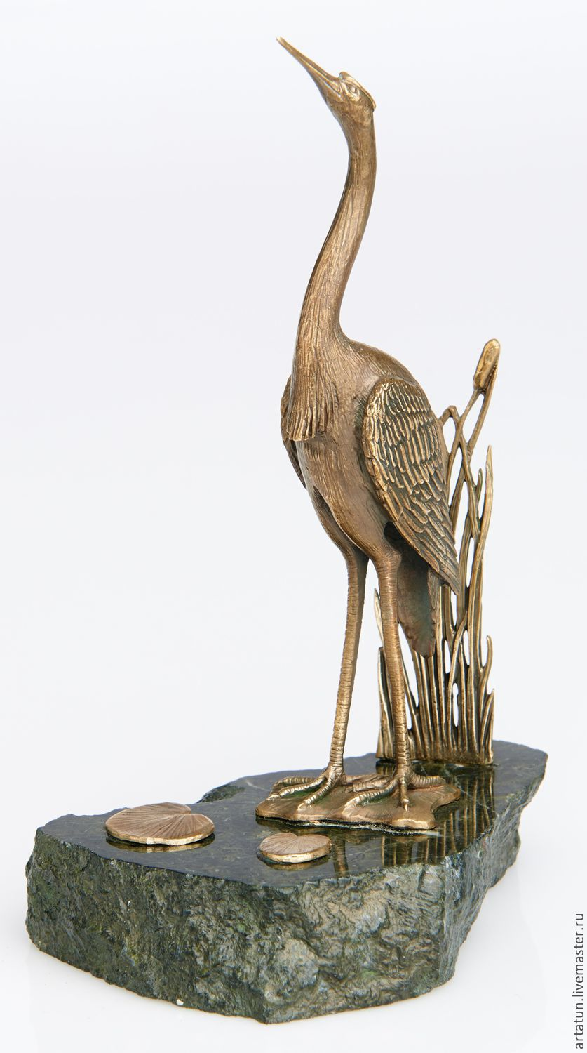 Stand the rings 'Heron', Figurines, Moscow,  Фото №1