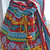Сумки и аксессуары handmade. Livemaster - original item Tribal Shoulder Bag, Mochila Bucket Bag, Colorful Bag, Ethnic Bag, Mul. Handmade.