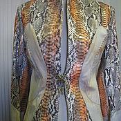 """Одежда ручной работы. Ярмарка Мастеров - ручная работа Куртка """"Рептилия"""". Handmade."""